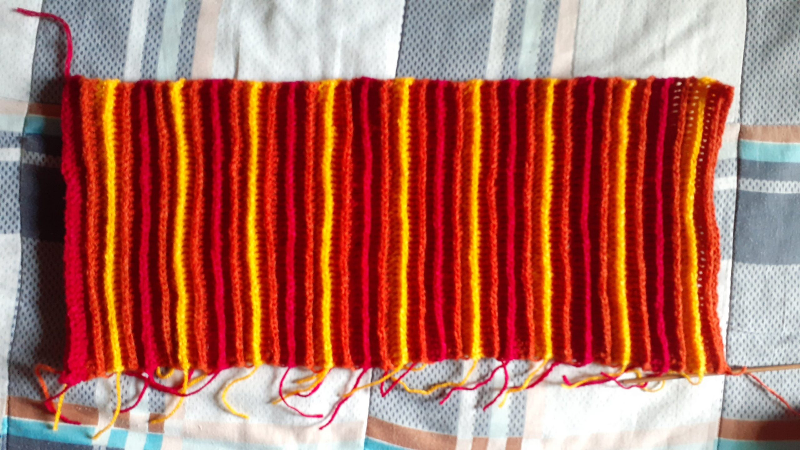 Final rectangle piece for the hat.